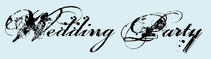 wedding party graphic