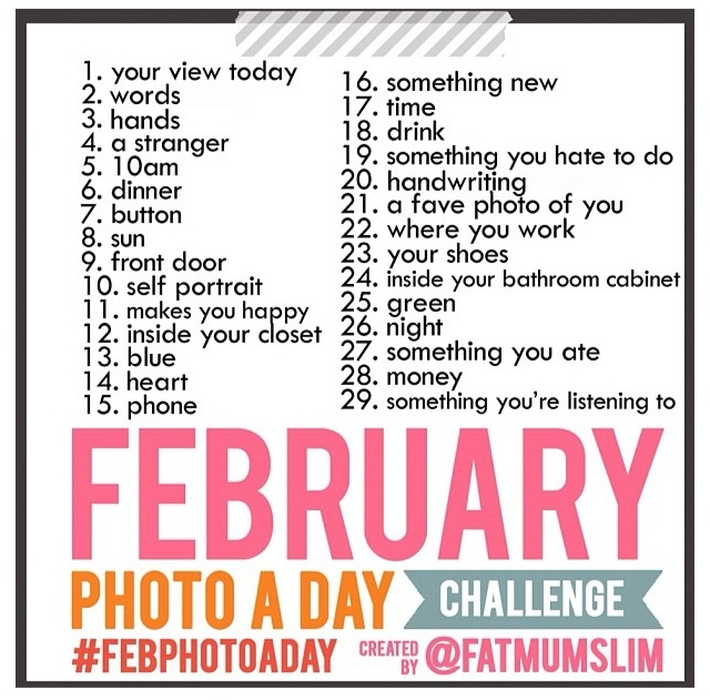 Feb Photo a Day