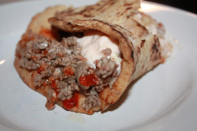 Lamb Tacos with Spicy Tzatziki