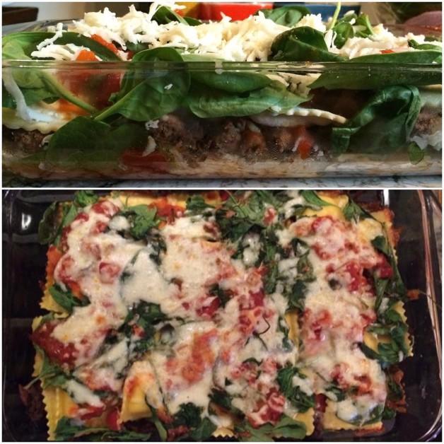 Ravioli lasagna  one of those why didnt I thinkhellip