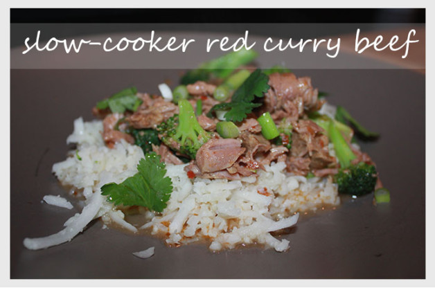 slow-cooker red curry beef