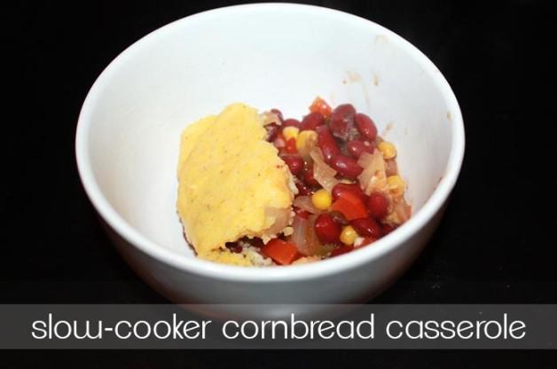 slow cooker cornbread casserole