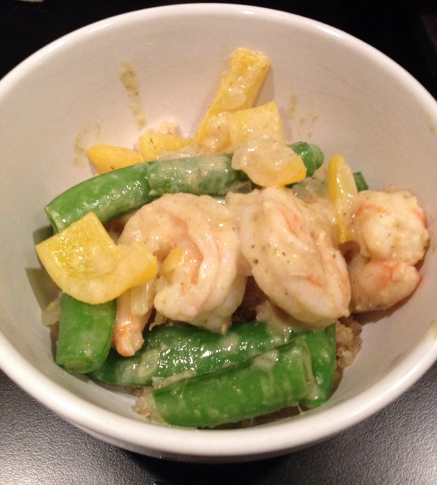 green curry shrimp