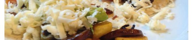 roasted veggie tacos