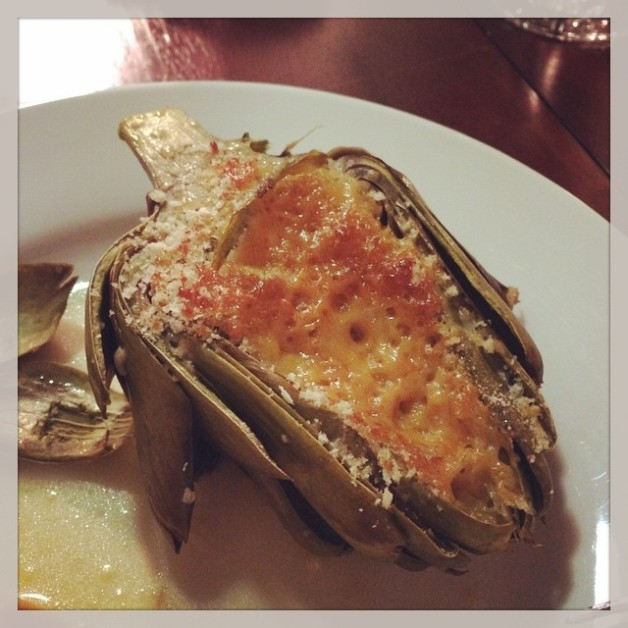 Roasted artichokes - first time I've tried to make artichokes…