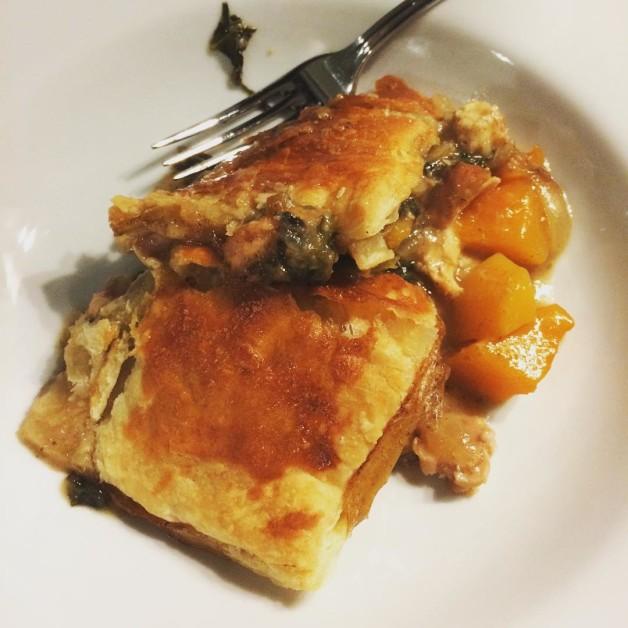 looks AND tastes like fall  Bon Appetit Skillet Chickenhellip