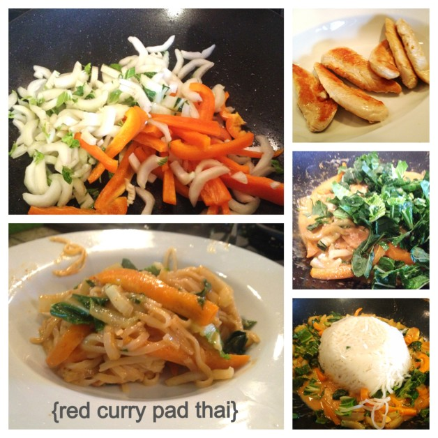 red curry pad thai