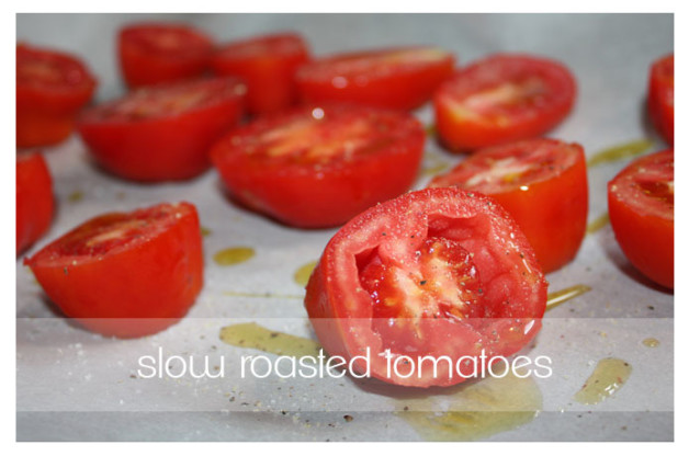 slow roasted tomatoes for blog