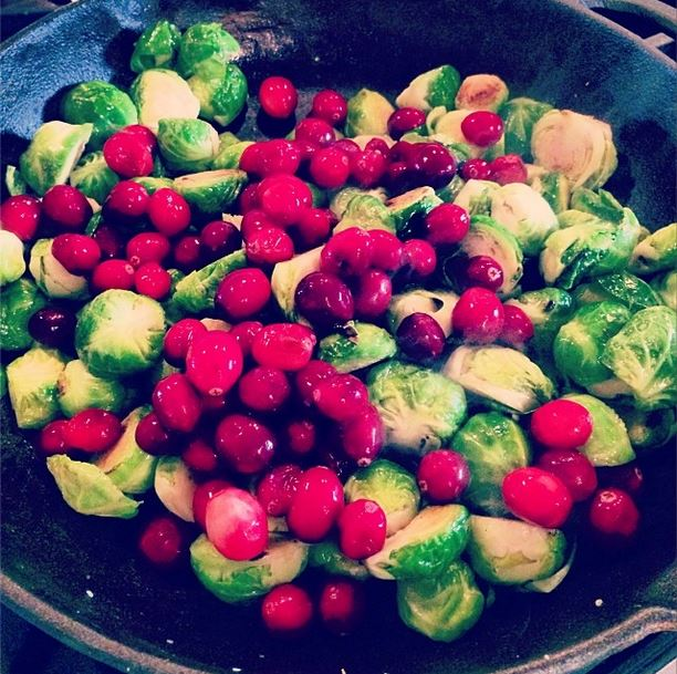 cranberry & brussels